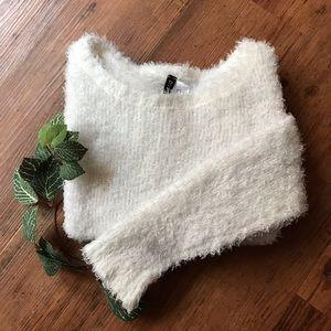 Divided | Soft Fuzzy Sweater Medium
